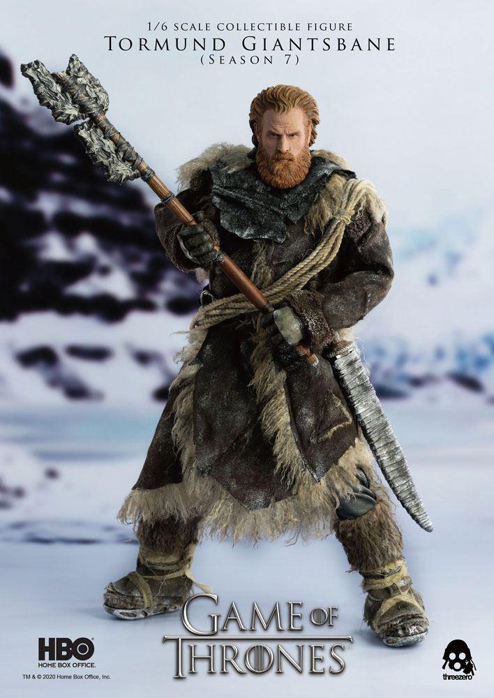 Figurine Game of Thrones Tormund Giantsbane 31cm 1001 Figurines (9)