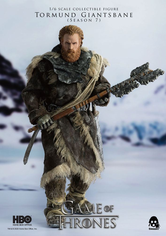 Figurine Game of Thrones Tormund Giantsbane 31cm 1001 Figurines (10)