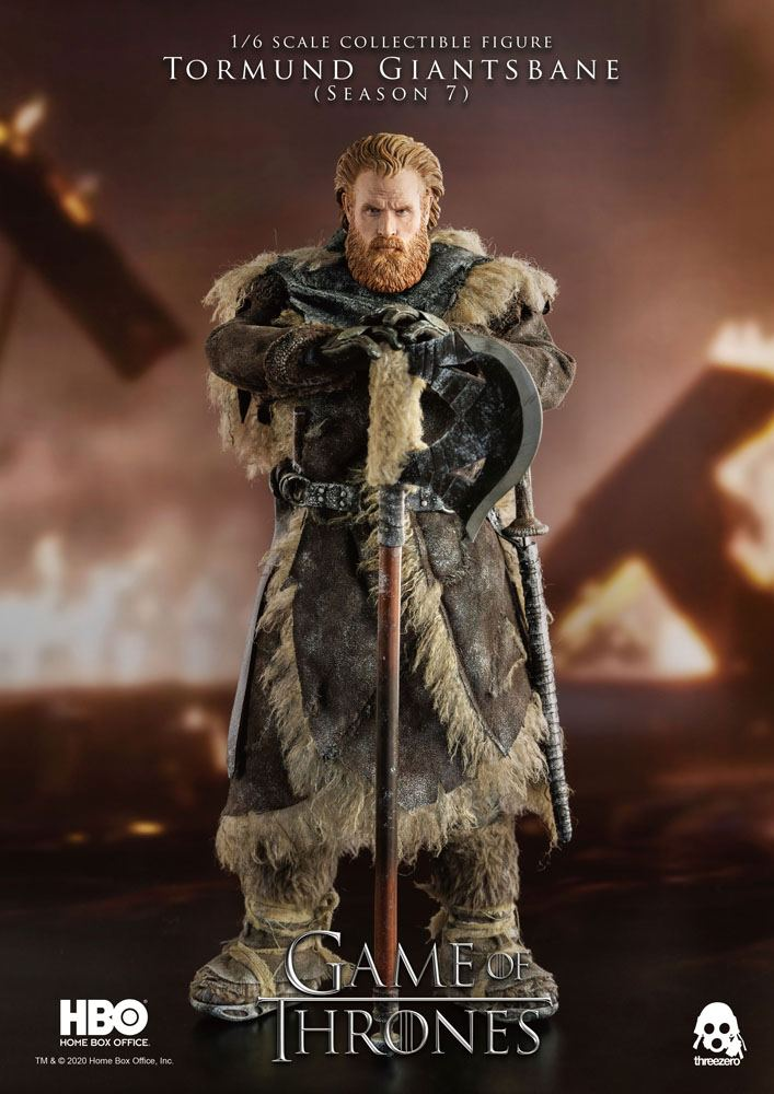 Figurine Game of Thrones Tormund Giantsbane 31cm 1001 Figurines (12)