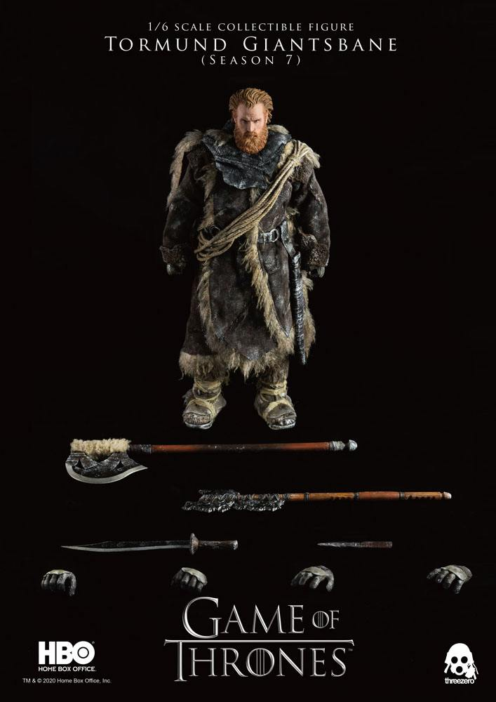 Figurine Game of Thrones Tormund Giantsbane 31cm 1001 Figurines (18)