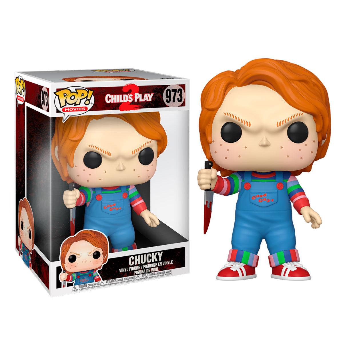 Figurine Chucky Jeu d´enfant Super Sized POP! Chucky 25cm