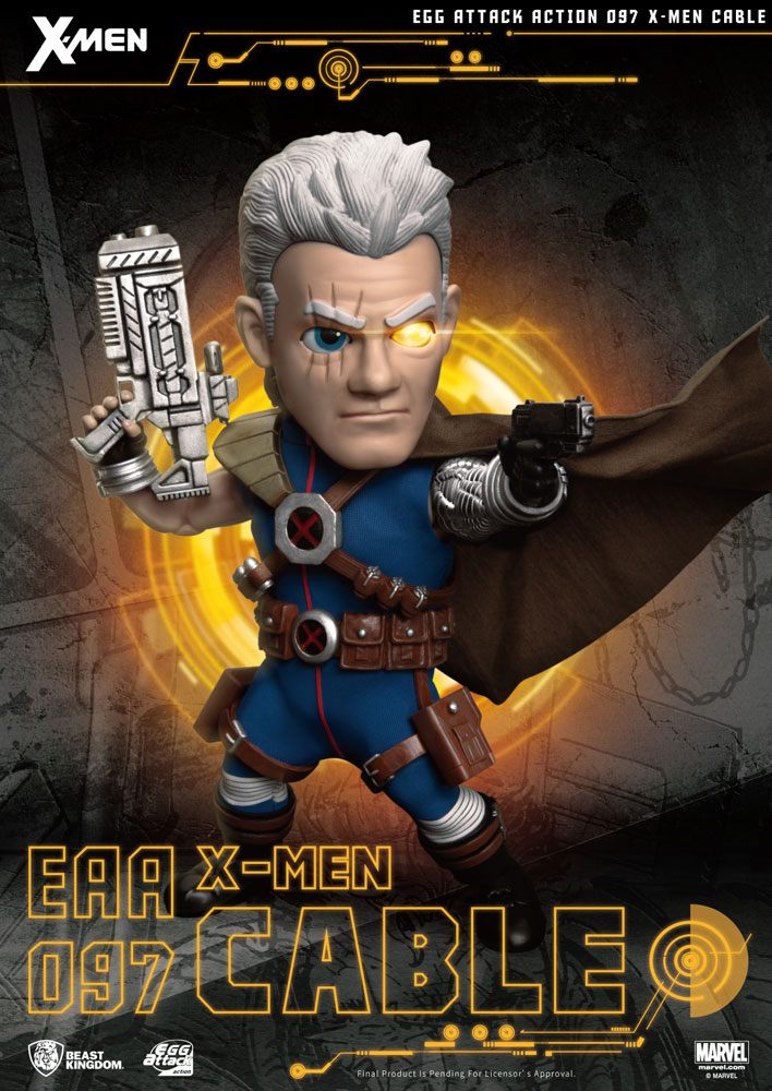 Figurine X-Men Egg Attack Cable 17cm