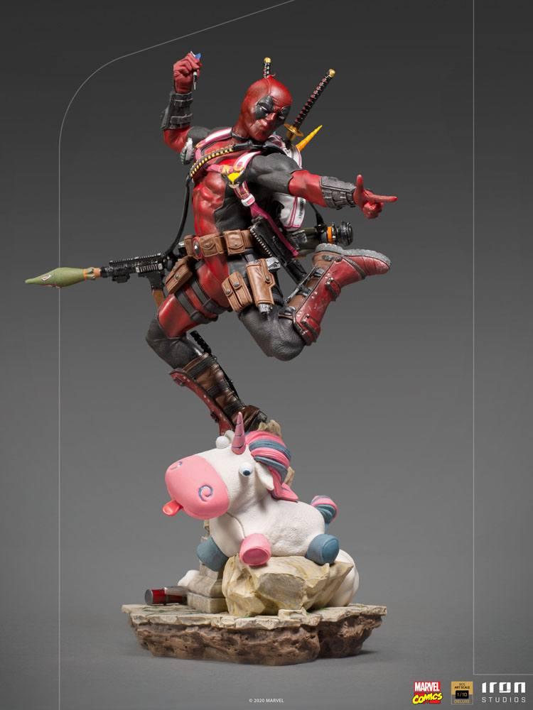 Statuette Marvel Comics BDS Deluxe Art Scale Deadpool 24cm 1001 Figurines (6)