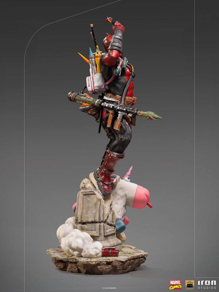 Statuette Marvel Comics BDS Deluxe Art Scale Deadpool 24cm 1001 Figurines (8)