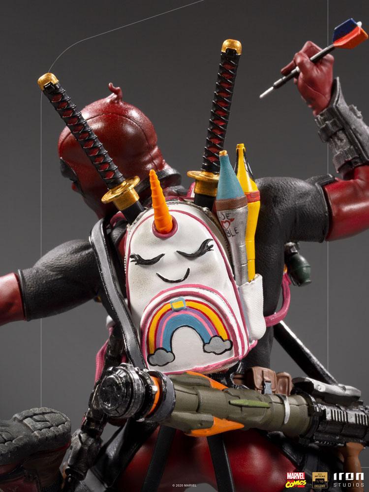 Statuette Marvel Comics BDS Deluxe Art Scale Deadpool 24cm 1001 Figurines (12)