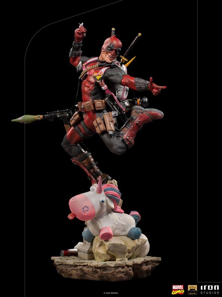 Statuette Marvel Comics BDS Deluxe Art Scale Deadpool 24cm 1001 Figurines (15)
