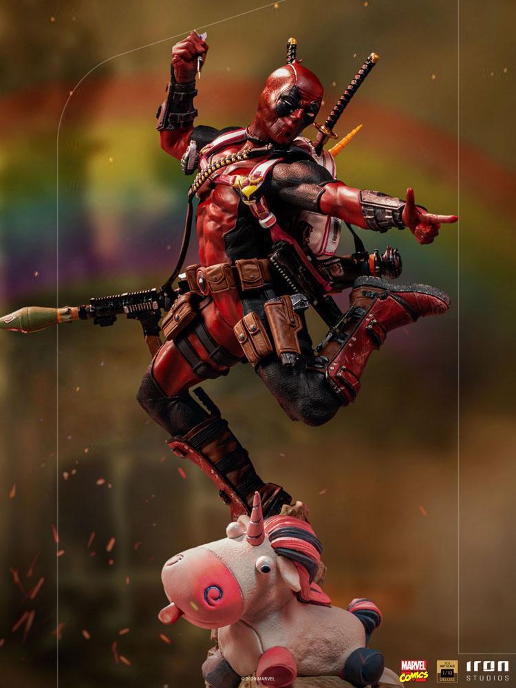 Statuette Marvel Comics BDS Deluxe Art Scale Deadpool 24cm 1001 Figurines (16)