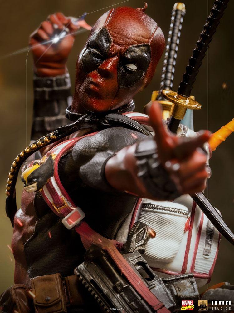 Statuette Marvel Comics BDS Deluxe Art Scale Deadpool 24cm 1001 Figurines (17)