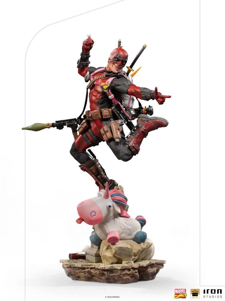 Statuette Marvel Comics BDS Deluxe Art Scale Deadpool 24cm 1001 Figurines (19)