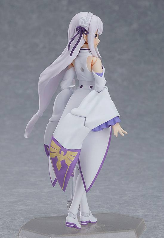 Figurine Figma ReZERO Starting Life in Another World Emilia 14cm 1001 Figurines (2)