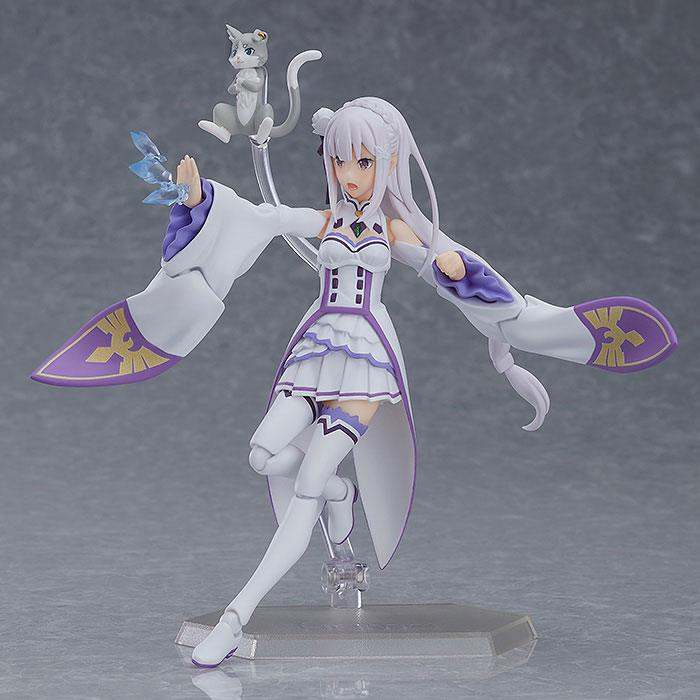 Figurine Figma ReZERO Starting Life in Another World Emilia 14cm 1001 Figurines (3)