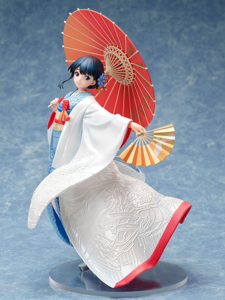 Statuette SSSS.Gridman Rikka Takarada Shiromuku 22cm