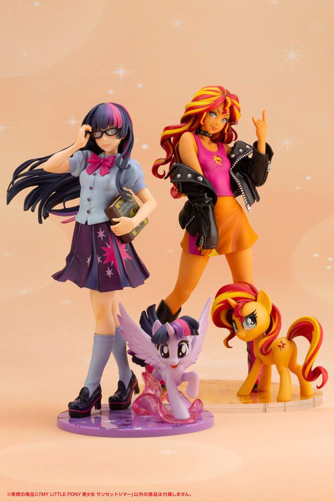 Statuette Mon petit poney Bishoujo Sunset Shimmer 22cm 1001 Figurines (17)