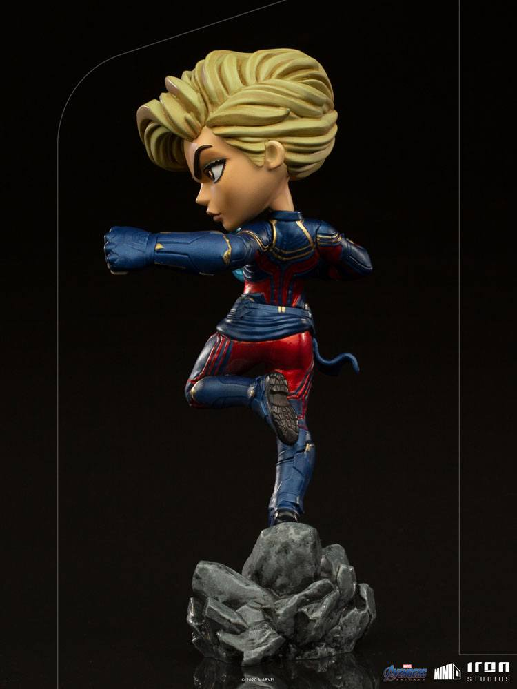 Figurine Avengers Endgame Mini Co. Captain Marvel 18cm 1001 Figurines (3)