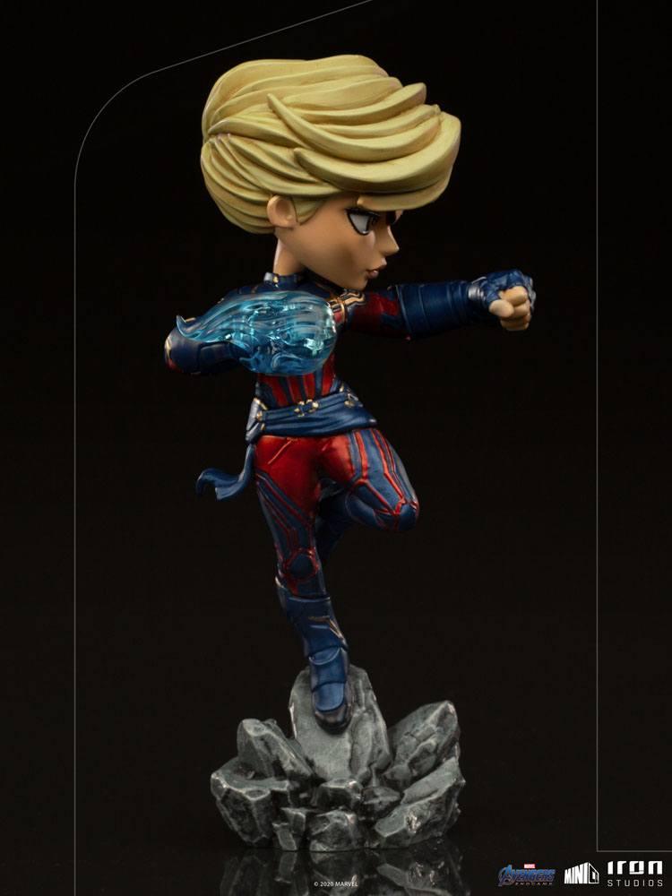 Figurine Avengers Endgame Mini Co. Captain Marvel 18cm 1001 Figurines (5)