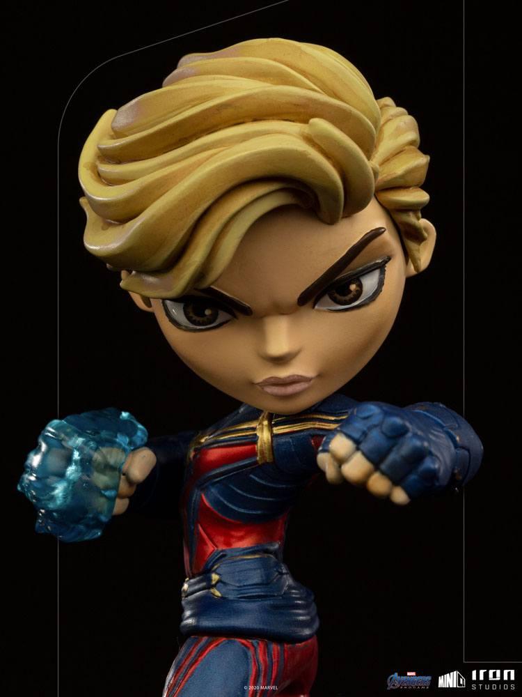 Figurine Avengers Endgame Mini Co. Captain Marvel 18cm 1001 Figurines (6)
