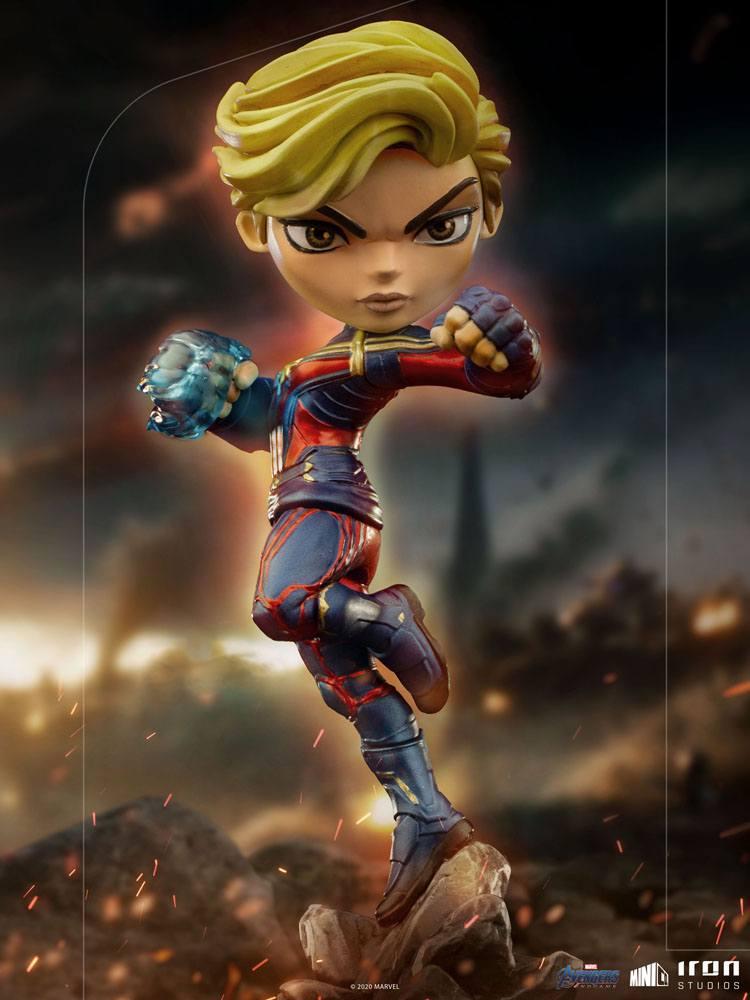 Figurine Avengers Endgame Mini Co. Captain Marvel 18cm 1001 Figurines (11)