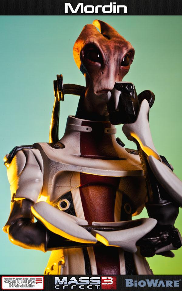 Statuette Mass Effect 3 Mordin 52cm 1001 Figurines 10