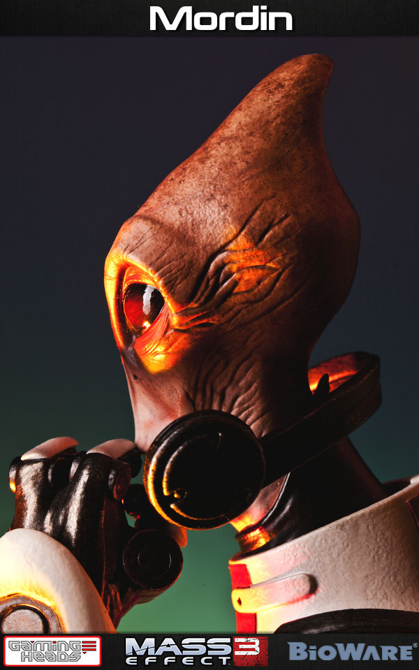 Statuette Mass Effect 3 Mordin 52cm 1001 Figurines 11