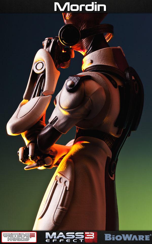 Statuette Mass Effect 3 Mordin 52cm 1001 Figurines 12