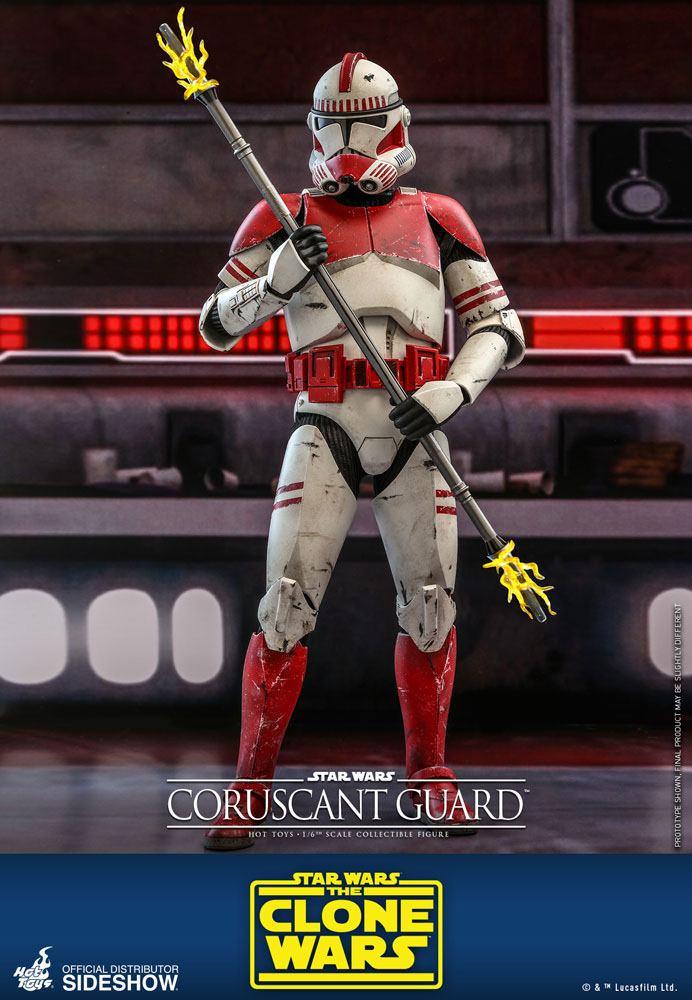 Figurine Star Wars The Clone Wars Coruscant Guard 30cm 1001 Figurines (1)