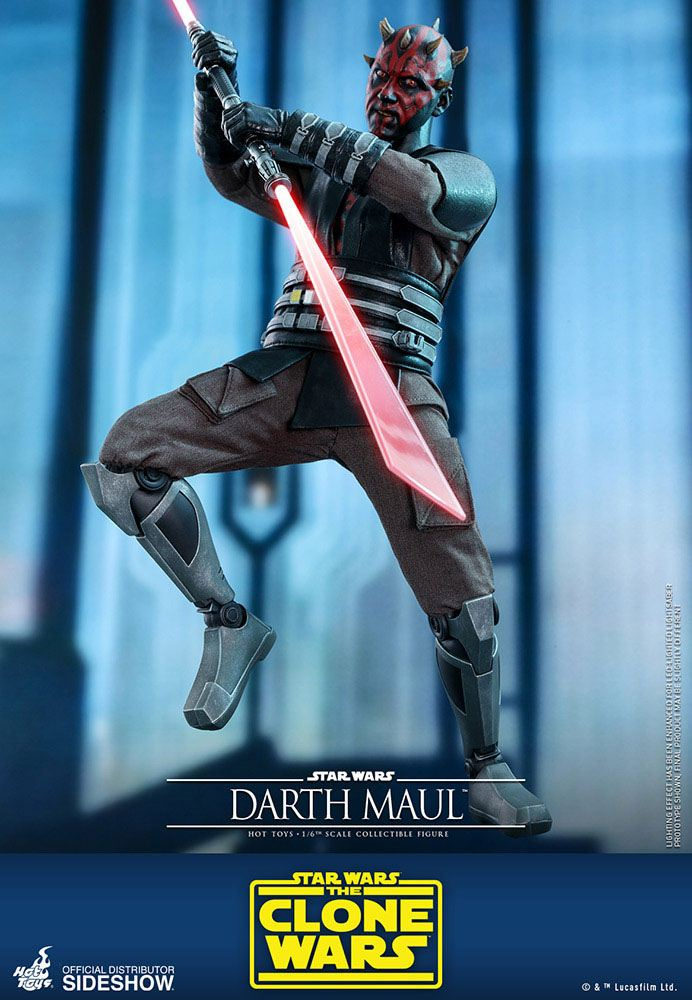 Figurine Star Wars The Clone Wars Darth Maul 29cm 1001 Figurines (5)