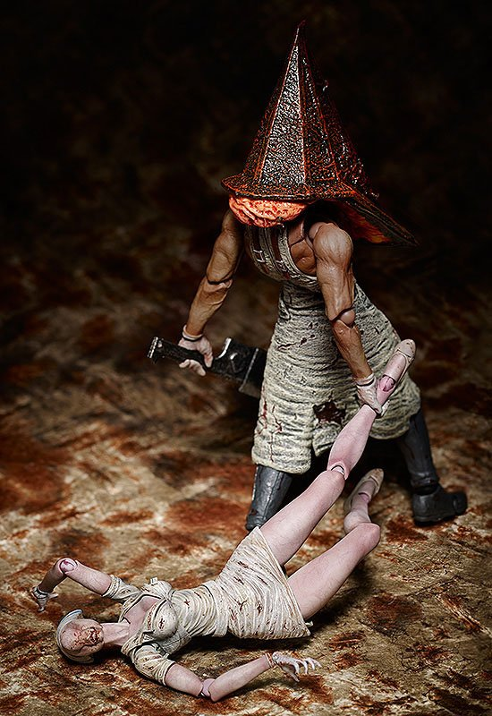 Figurine Figma Silent Hill 2 Red Pyramid Thing 20cm 1001 Figurines (6)