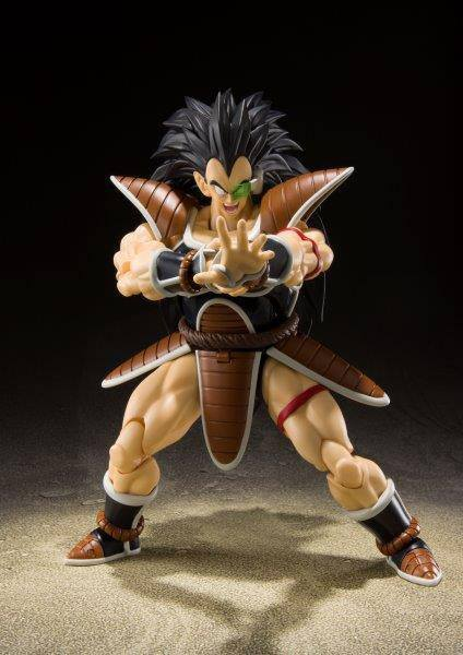 Figurine Dragon Ball Z S.H. Figuarts Raditz 17cm 1001 Figurines (3)