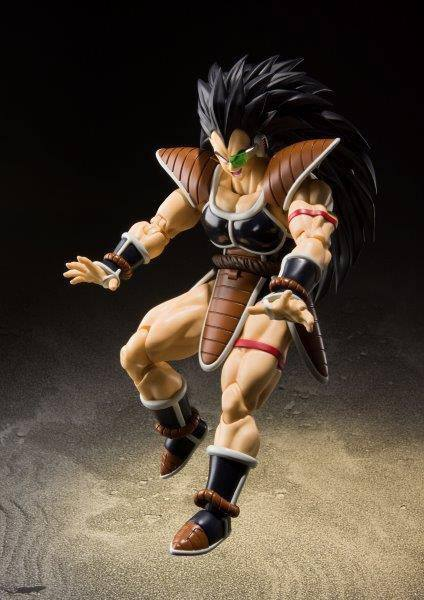 Figurine Dragon Ball Z S.H. Figuarts Raditz 17cm 1001 Figurines (6)