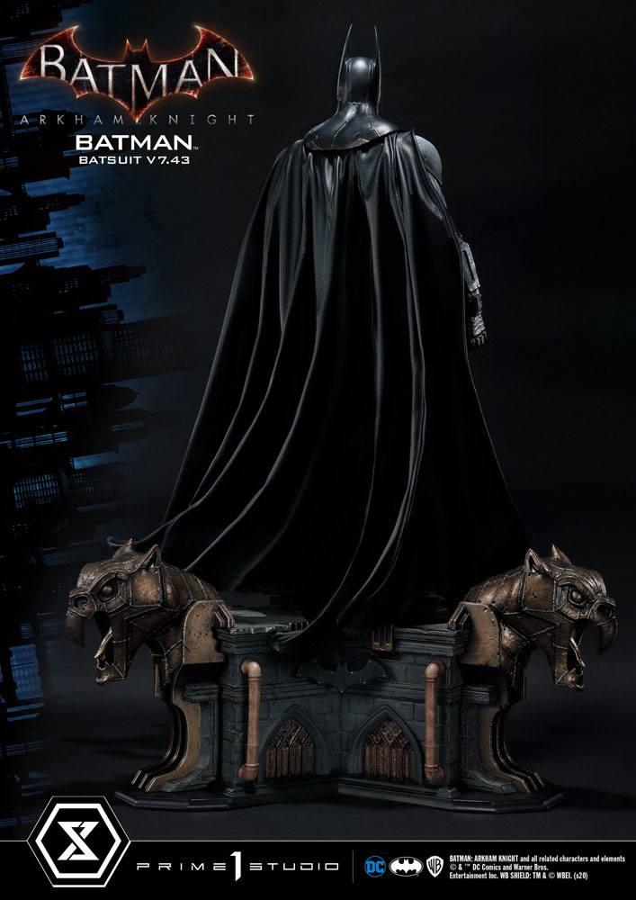 Statuette Batman Arkham Knight Batman Batsuit (v7.43) 86cm 1001 Figurines (5)