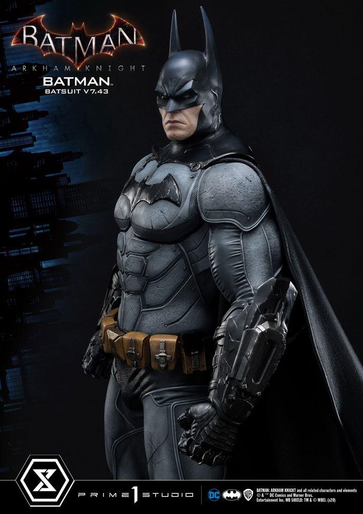 Statuette Batman Arkham Knight Batman Batsuit (v7.43) 86cm 1001 Figurines (8)