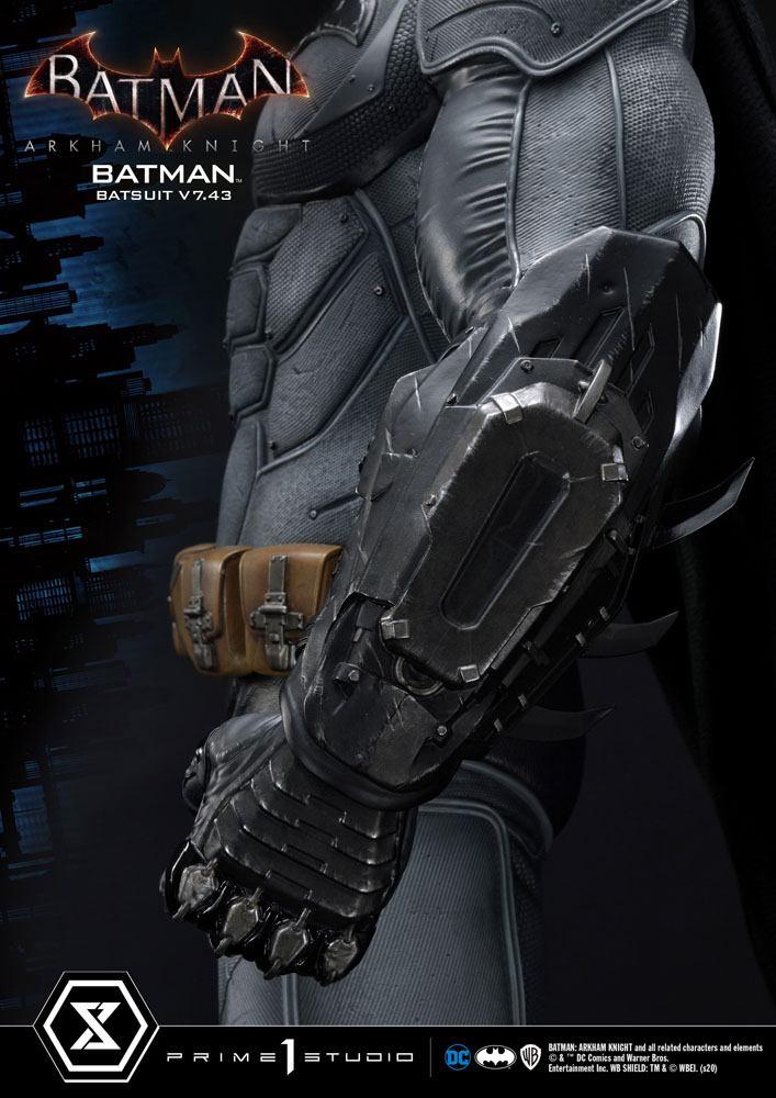 Statuette Batman Arkham Knight Batman Batsuit (v7.43) 86cm 1001 Figurines (15)