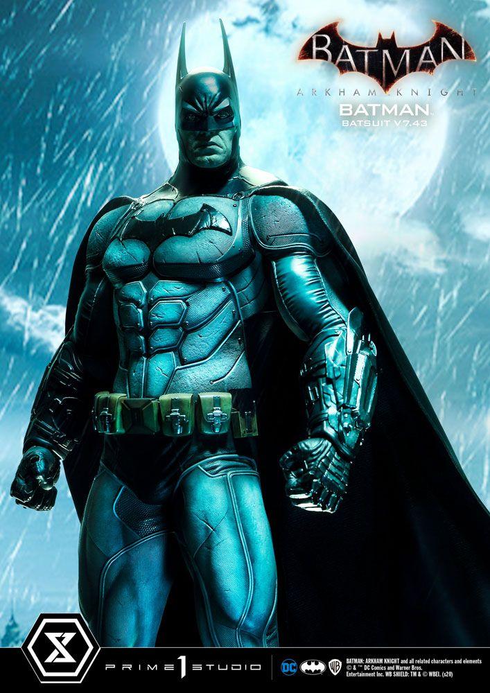 Statuette Batman Arkham Knight Batman Batsuit (v7.43) 86cm 1001 Figurines (16)