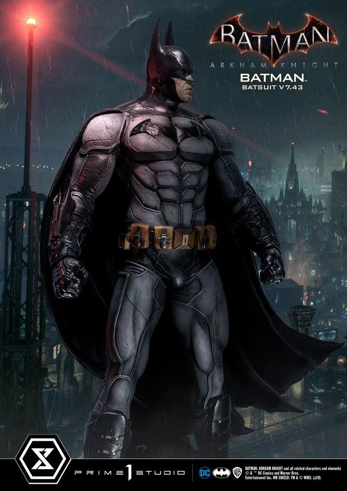 Statuette Batman Arkham Knight Batman Batsuit (v7.43) 86cm 1001 Figurines (18)