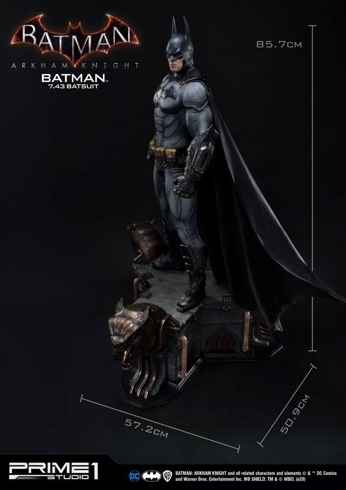 Statuette Batman Arkham Knight Batman Batsuit (v7.43) 86cm 1001 Figurines (27)