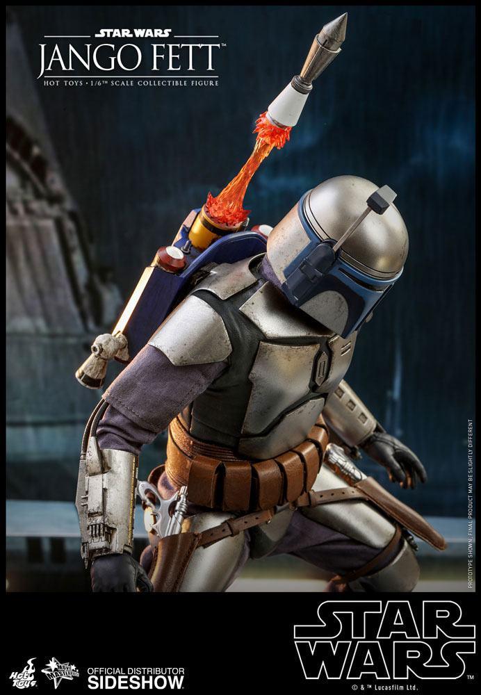 Figurine Star Wars Episode II Movie Masterpiece Jango Fett 30cm 1001 Figurines (12)