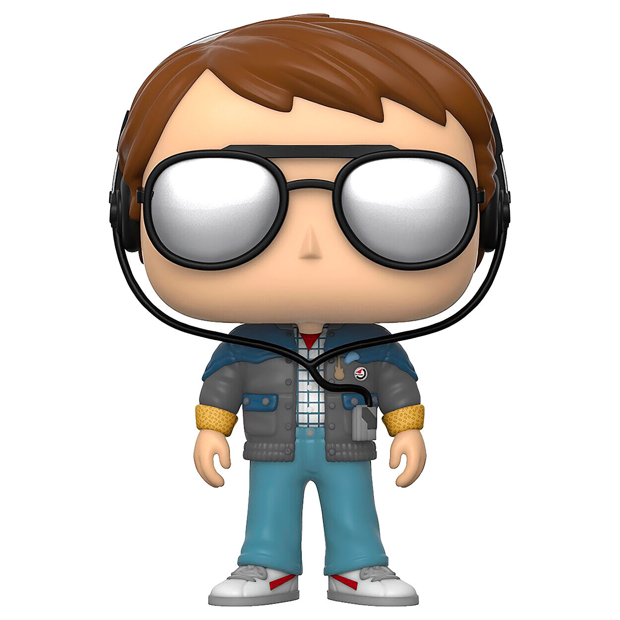 Figurine Retour vers le Futur Funko POP! Marty with glasses 9cm