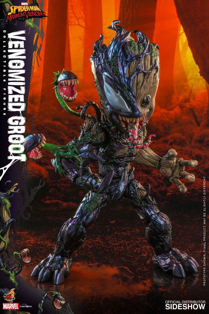 Figurine Marvels Spider-Man Maximum Venom Artist Collection Venomized Groot 25cm 1001 Figurines 2