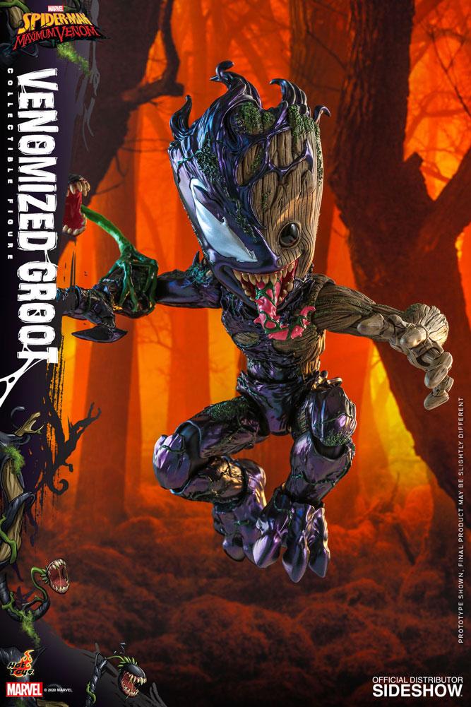 Figurine Marvels Spider-Man Maximum Venom Artist Collection Venomized Groot 25cm 1001 Figurines 3