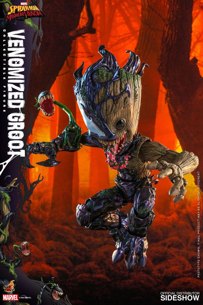 Figurine Marvels Spider-Man Maximum Venom Artist Collection Venomized Groot 25cm 1001 Figurines 4