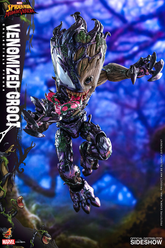 Figurine Marvels Spider-Man Maximum Venom Artist Collection Venomized Groot 25cm 1001 Figurines 5