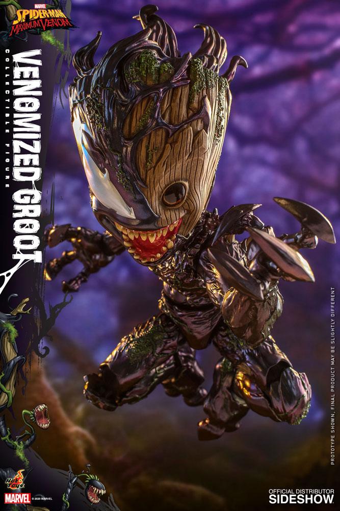 Figurine Marvels Spider-Man Maximum Venom Artist Collection Venomized Groot 25cm 1001 Figurines 6
