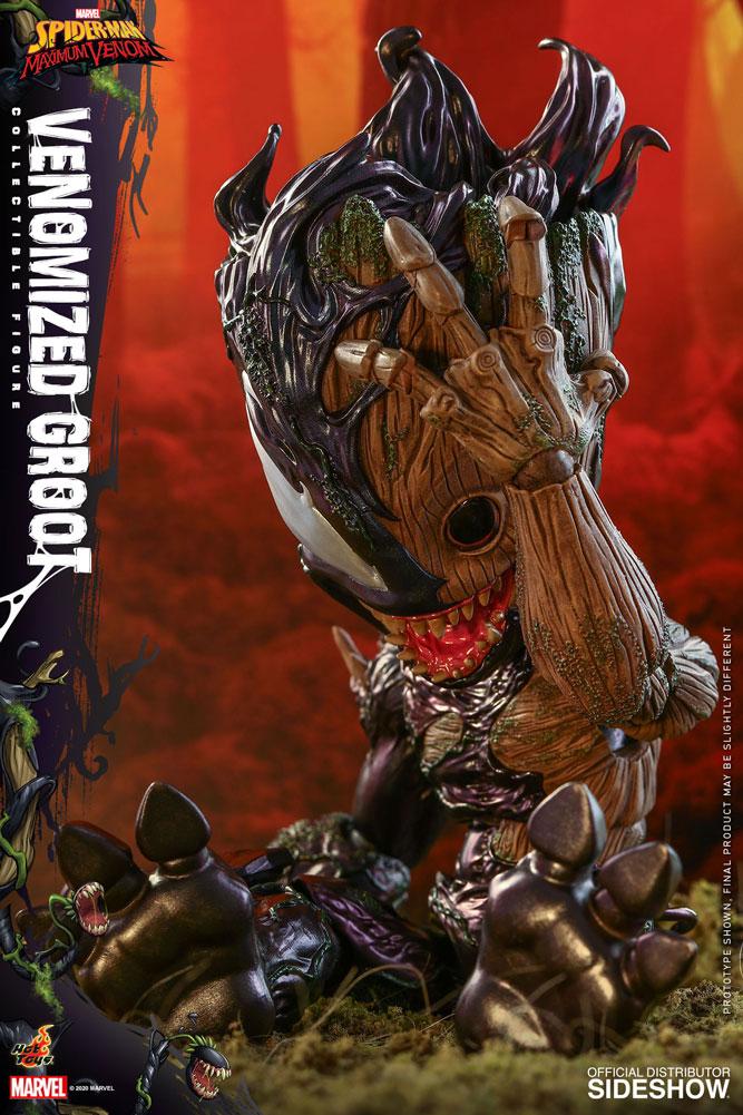 Figurine Marvels Spider-Man Maximum Venom Artist Collection Venomized Groot 25cm 1001 Figurines 12