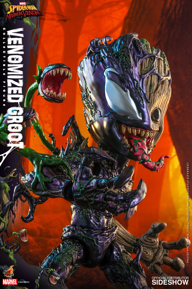 Figurine Marvels Spider-Man Maximum Venom Artist Collection Venomized Groot 25cm 1001 Figurines 11