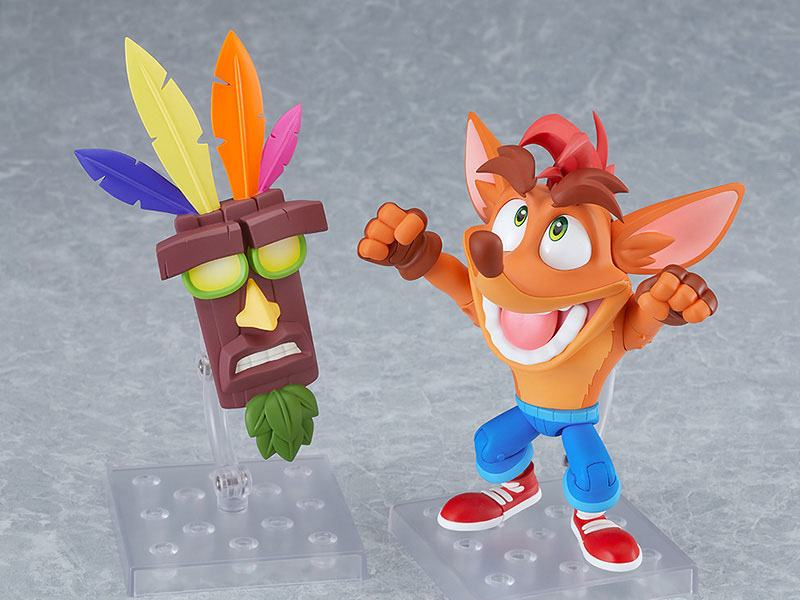 Figurine Nendoroid Crash Bandicoot - Crash Bandicoot 12cm 1001 Figurines (3)