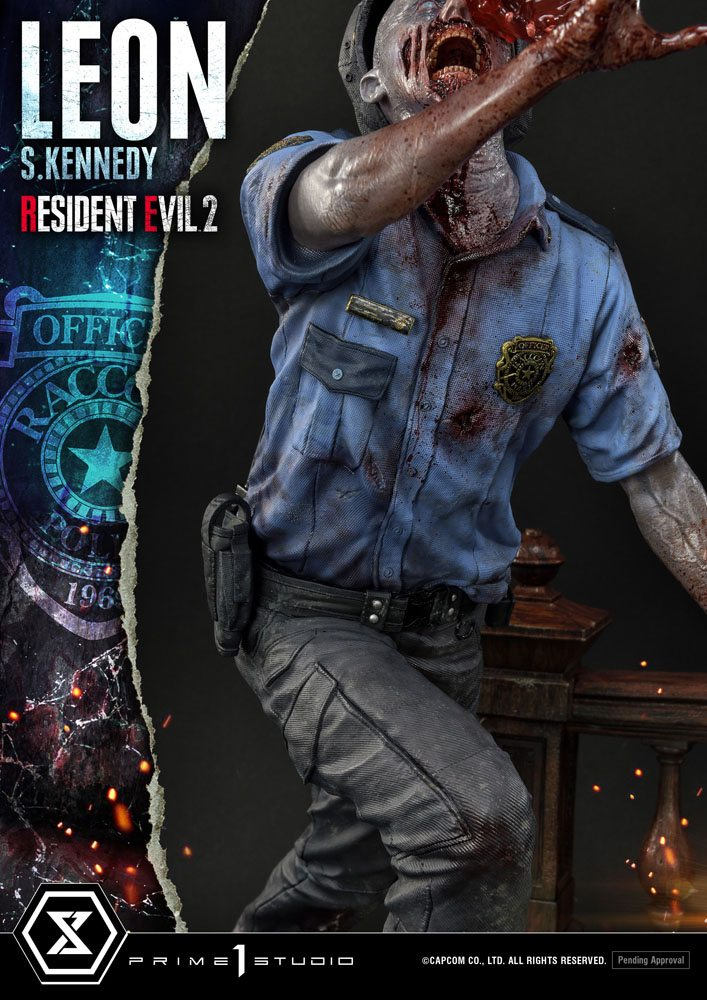 Statuette Resident Evil 2 Leon S. Kennedy 58cm 1001 Figurines (19)