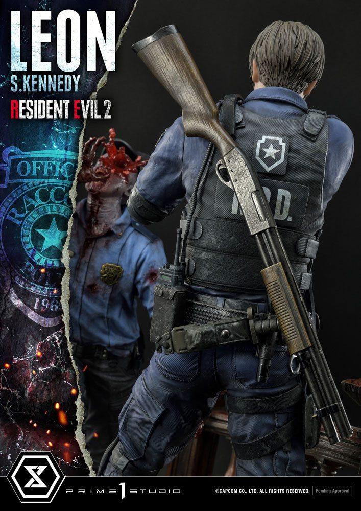 Statuette Resident Evil 2 Leon S. Kennedy 58cm 1001 Figurines (22)