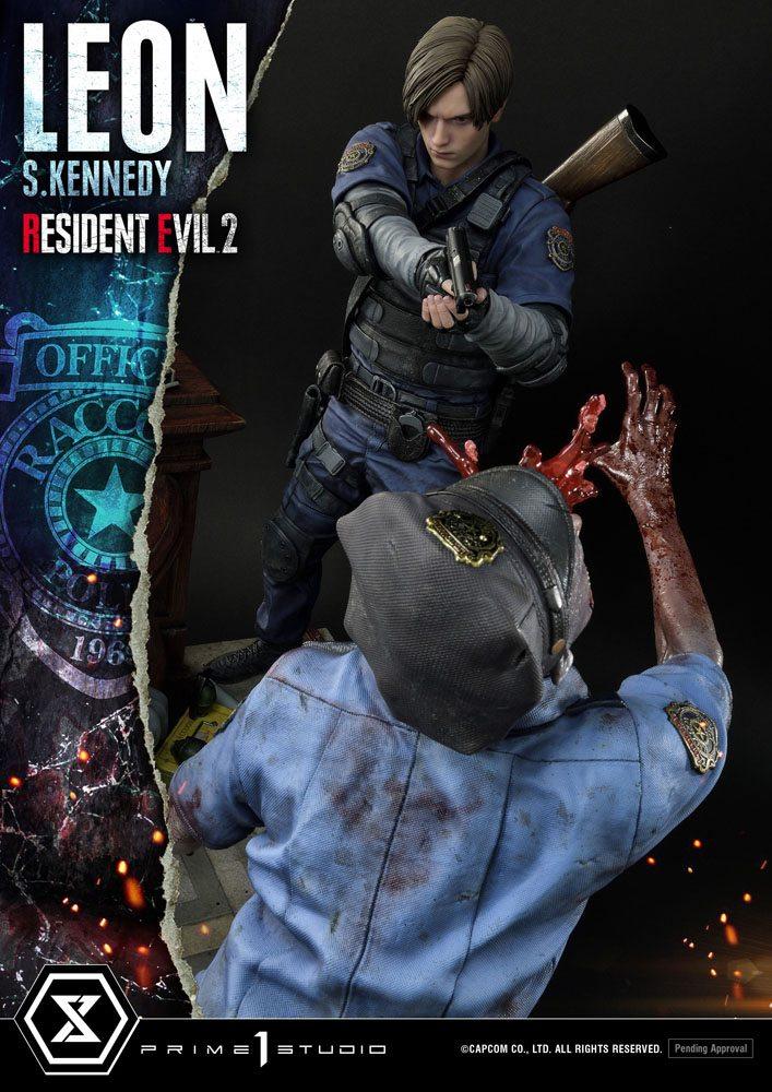 Statuette Resident Evil 2 Leon S. Kennedy 58cm 1001 Figurines (23)