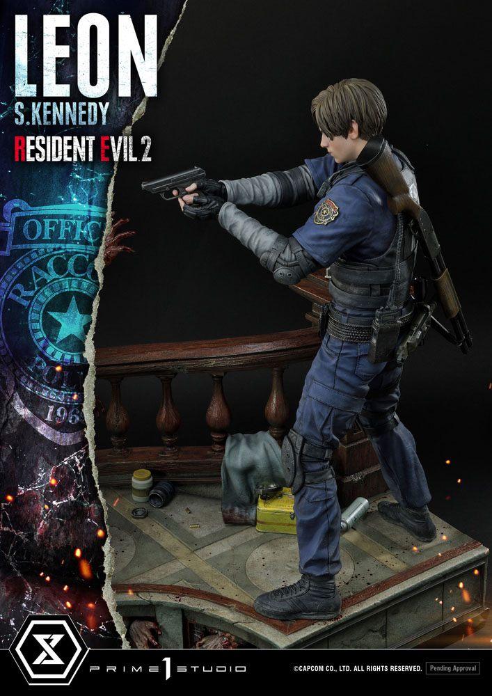 Statuette Resident Evil 2 Leon S. Kennedy 58cm 1001 Figurines (21)
