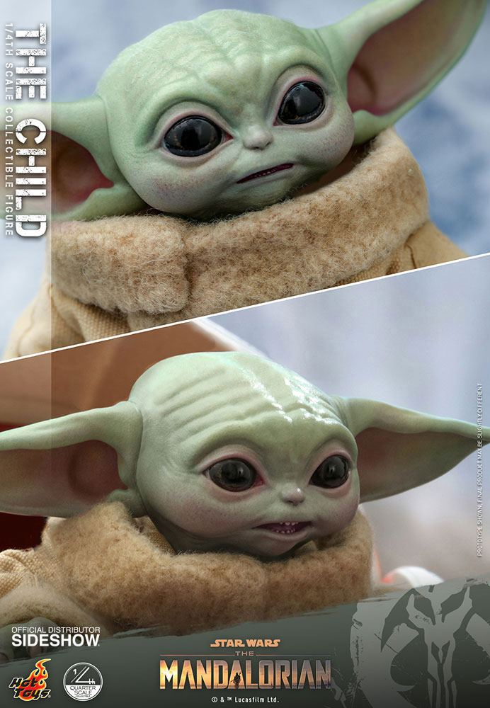 Figurine Star Wars The Mandalorian The Child 9cm 1001 Figurines (12)